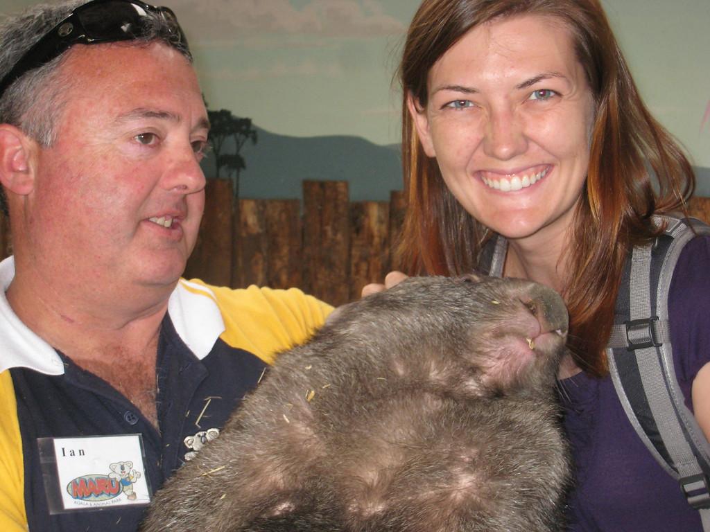 wombat sanctuary Melbourne