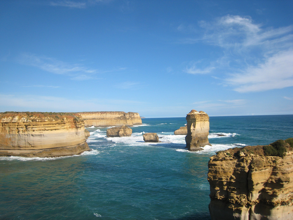 12 Apostles on the Great Ocean Road in Australia.