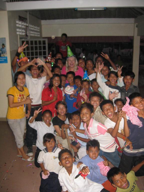 kids at FLO in Cambodia
