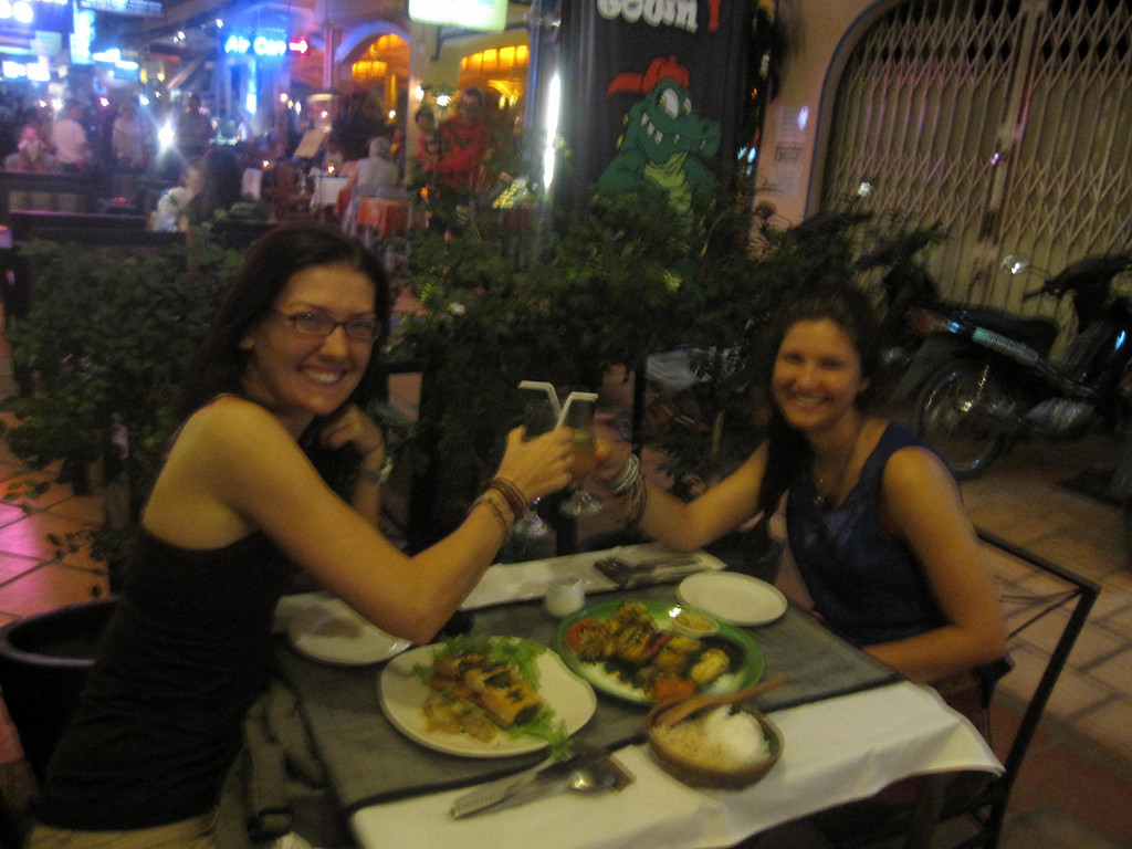 dining out in siem reap