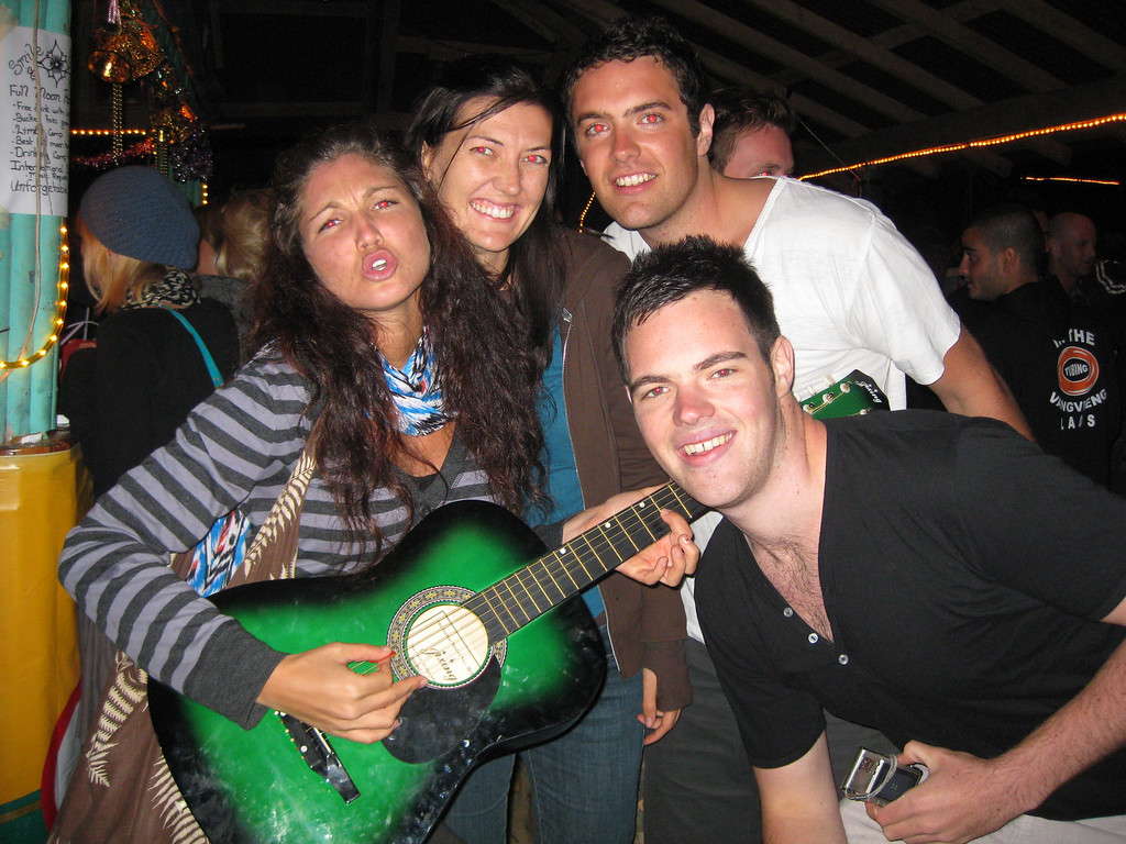 partying with Aussies in vang vieng circa 2009