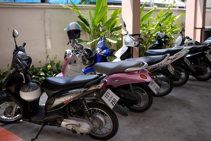 Motorbike in Chiang Mai, Thailand