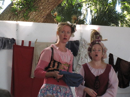 Washing Well Wenches in a show