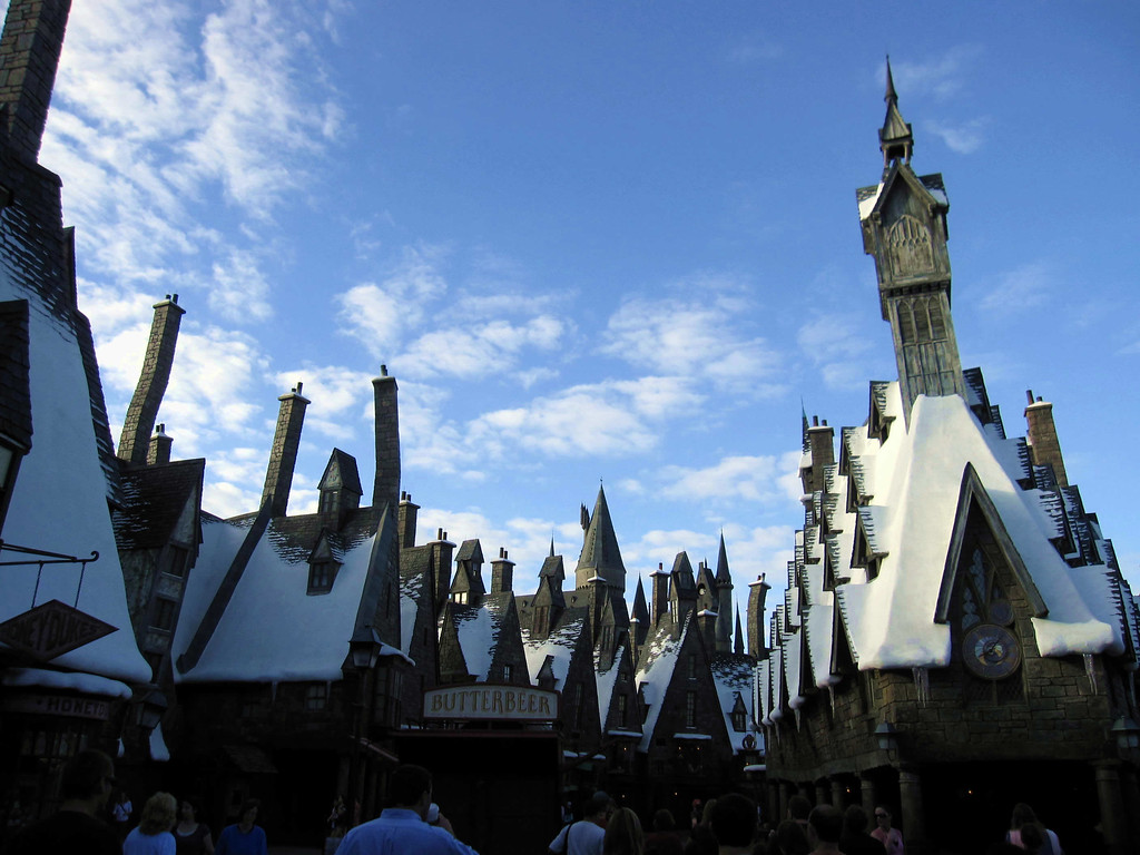 Hogsmeade Village in the Wizarding World of Harry Potter, Universal Studios Orlando